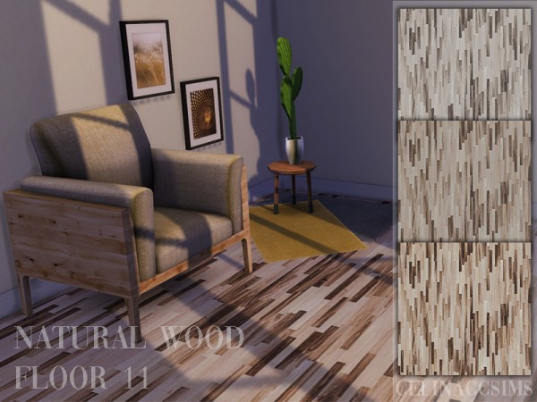 The Sims Resource: Natural Wood Floor 11 by celinaccsims