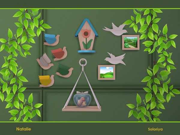 The Sims Resource: Natalie objects by soloriya