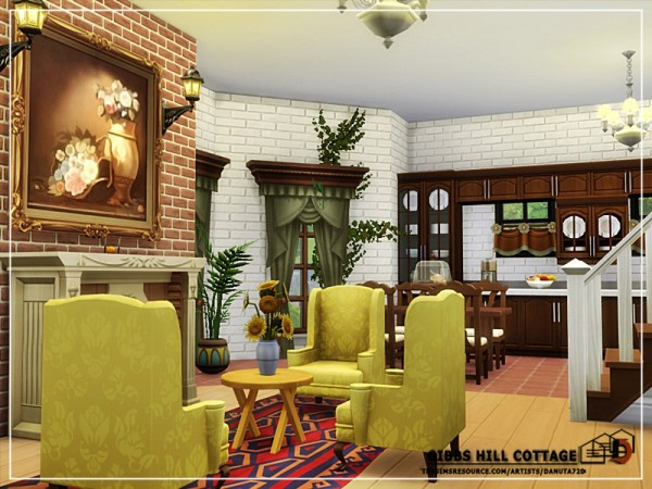 The Sims Resource: Gibbs Hill Cottage by Danuta720