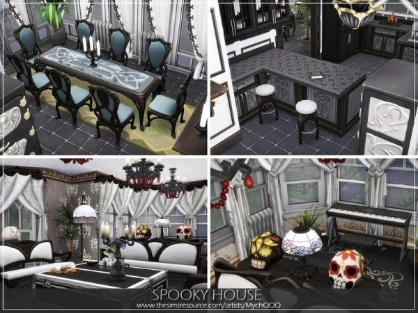 The Sims Resource: Spooky House by MychQQQ