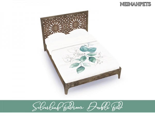 The Sims Resource: Silverleaf Bedroom Collection by neinahpets
