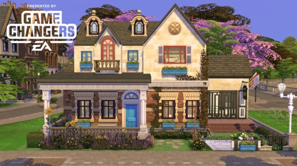 Sims Artists: Oidea house