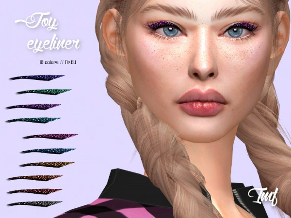 The Sims Resource: Joy Eyeliner N.64 by IzzieMcFire