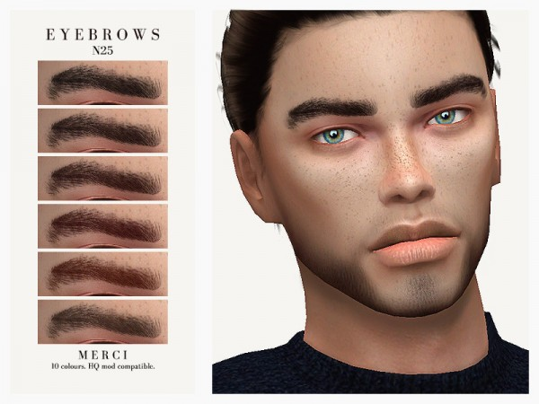 The Sims Resource: Eyebrows N25 by Merci