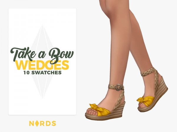 The Sims Resource: Take a Bow Wedges by Nords