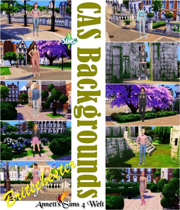 Annett`s Sims 4 Welt: CAS Backgrounds   University   Britechester