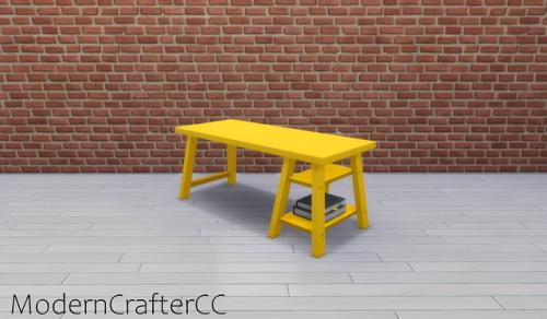 Modern Crafter: Anglette Desk V1 Recolored
