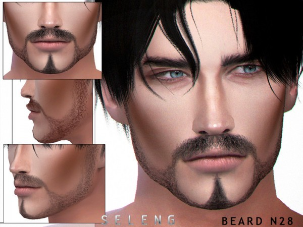 The Sims Resource: Beard N28 by Seleng