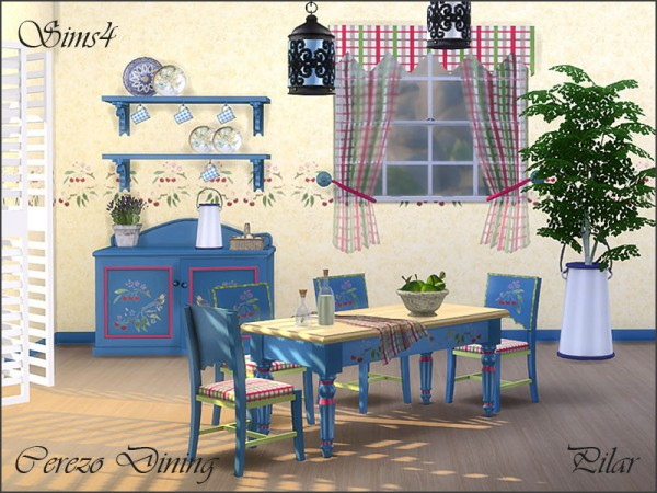 The Sims Resource: Cerezo diningroom by Pilar