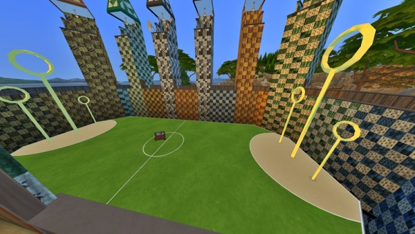 Mod The Sims: Quidditch Stadium by huso1995