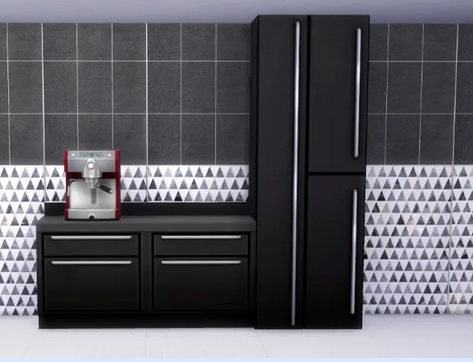 All4Sims: Tile the wall by Oldbox