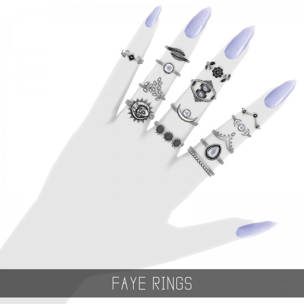 Simpliciaty: Faye Rings