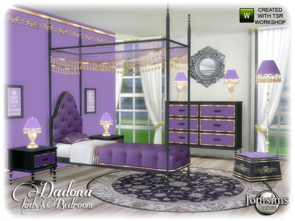 The Sims Resource: Dadona kids bedroom by jomsims