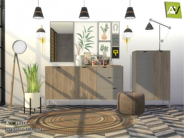 The Sims Resource: Wyndham Hallway by ArtVitalex