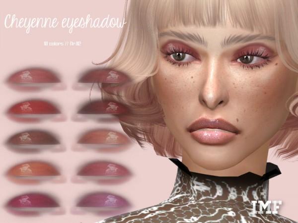 The Sims Resource: Cheyenne Eyeshadow N.112 by IzzieMcFire