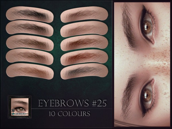 The Sims Resource: Eyebrows 25 by RemusSirion