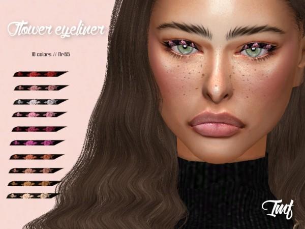The Sims Resource: Flower Eyeliner N.65 by IzzieMcFire