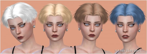 All by Glaza: Hair 25