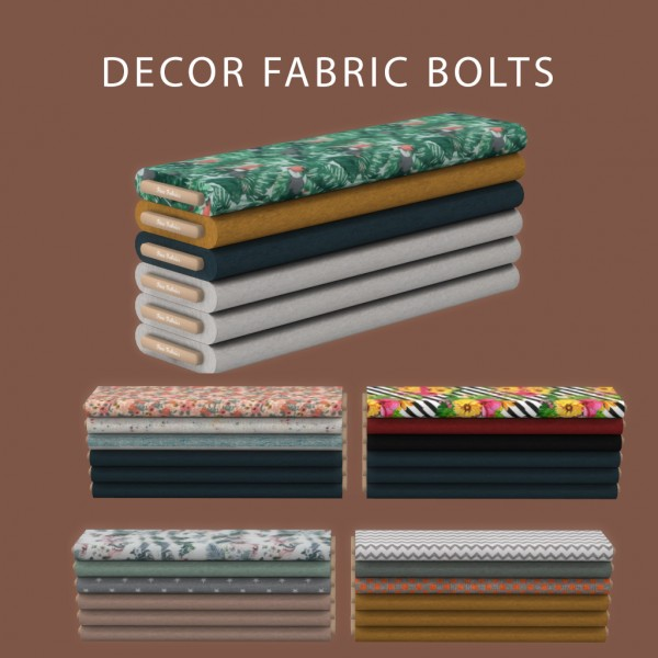 Leo 4 Sims: Fabric Bolts