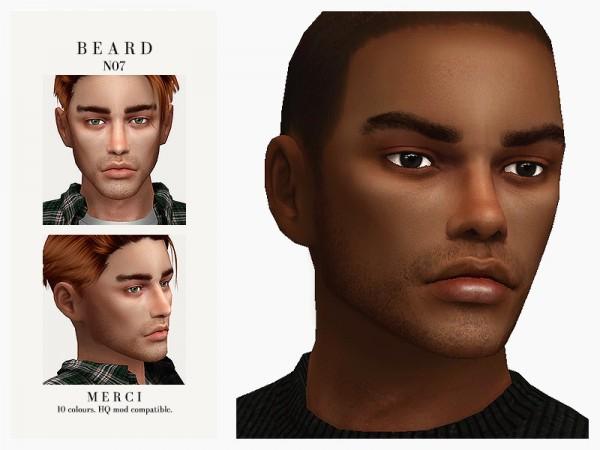 The Sims Resource: Beard N07 by Merci
