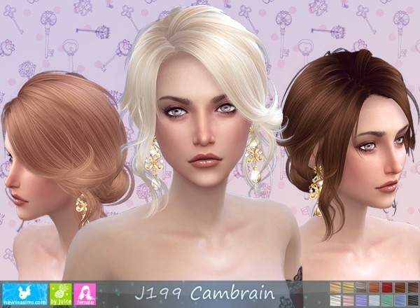 NewSea: J199 Cambrain Donation Hairstyle