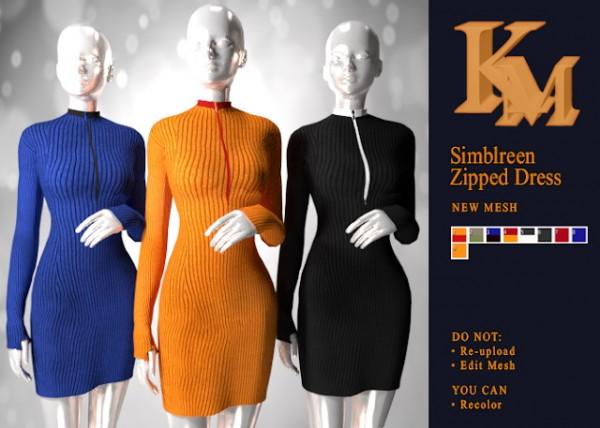 KM: Simblreem Zipped Dress