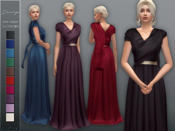 The Sims Resource: Daenerys Dress III by Sifix