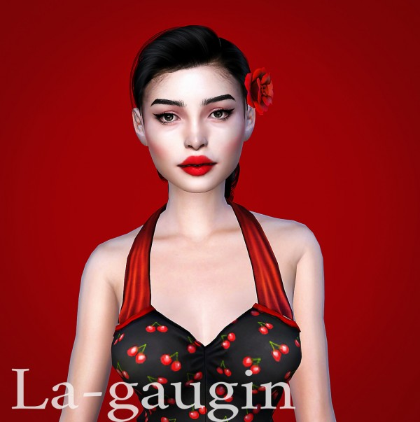 La Gaugin: Winny: a rockabilly girl