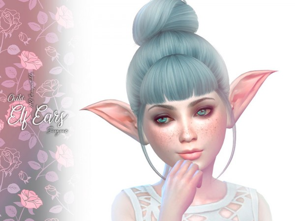 The Sims Resource: Child Elf Ears by Suzue