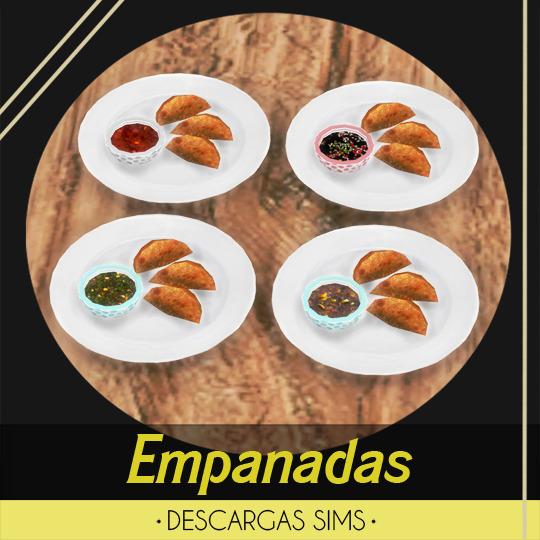 Descargas Sims: Empanadas