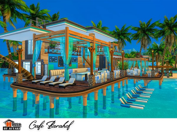 The Sims Resource: Cafe Barahof by autaki