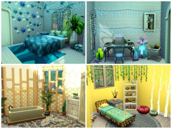 The Sims Resource: Mermaid Castle (No CC) by Mini Simmer
