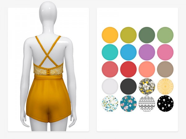 The Sims Resource: Twinkle Romper by Nords
