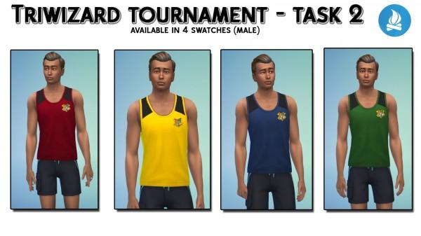 Mod The Sims: Hogwarts wardrobe by  iSandor