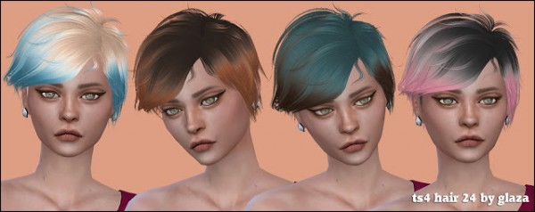All by Glaza: Hair 24