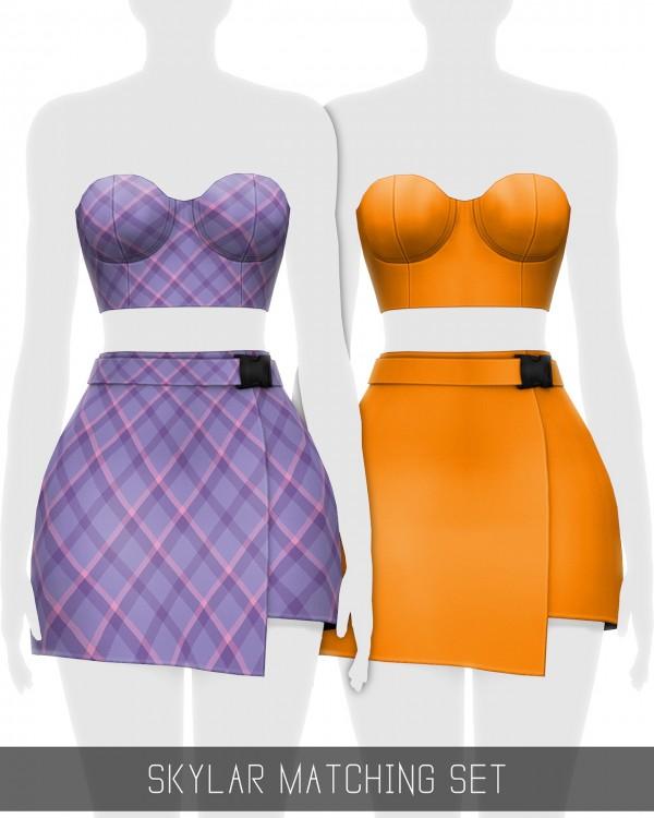 Simpliciaty: Skylar matching set
