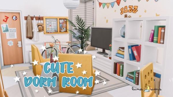 Luna Sims: Cute Dorm Room