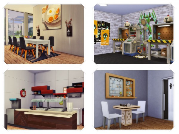 The Sims Resource: ROBER   Dormatory by marychabb