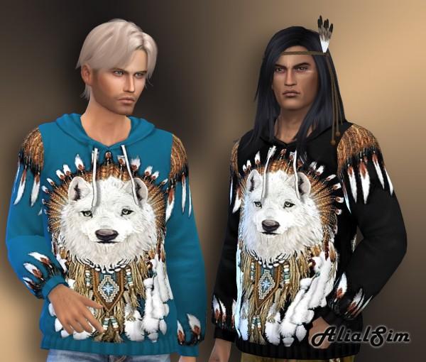Alial Sim: Wolf Sweater