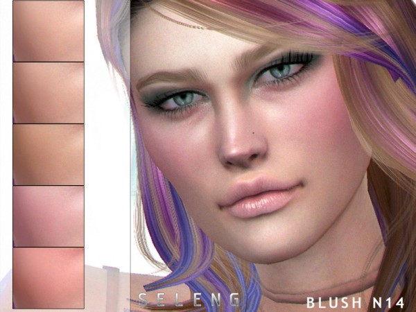 The Sims Resource: Blush N14 by Seleng