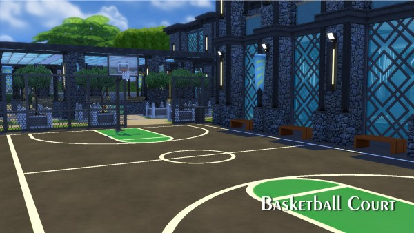 Mod The Sims: Greenhill Sports Center by Mondrosen