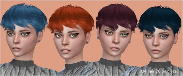 All by Glaza: Hair 26