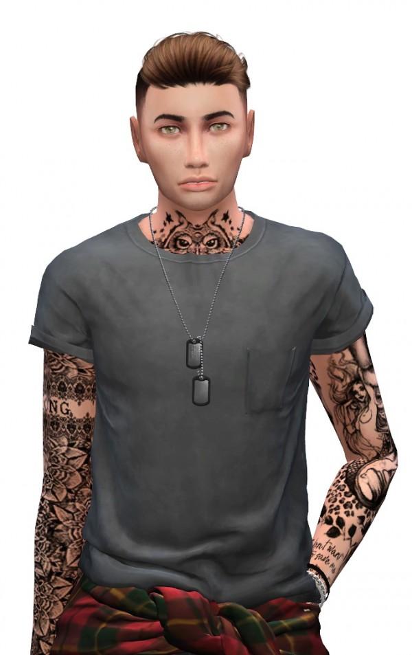 Models Sims 4: Ezra Williams