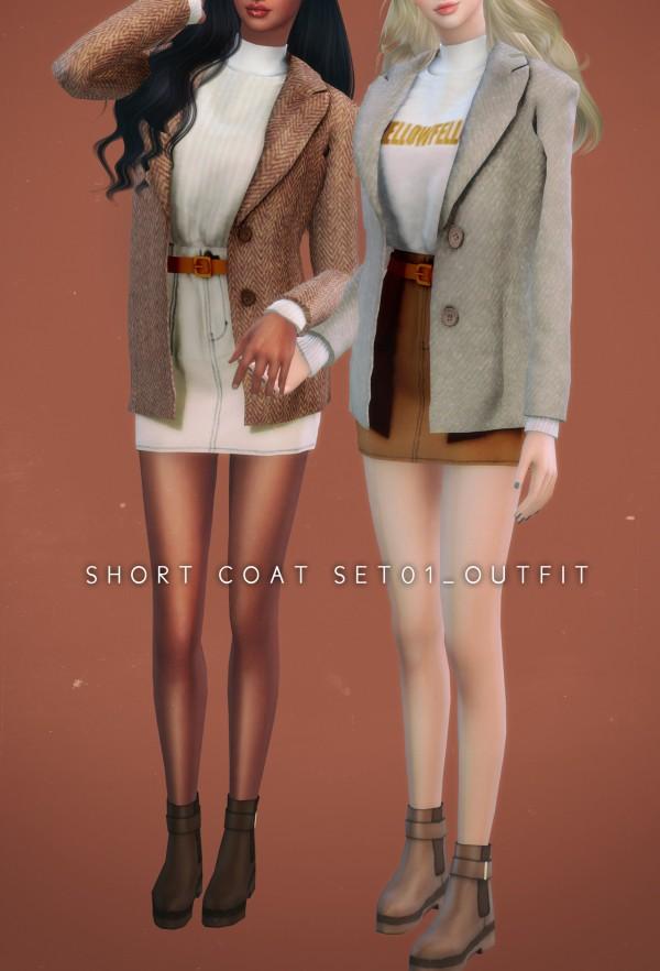 Newen: Short Coat Set 01