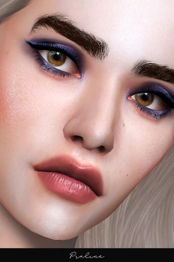 Praline Sims: Makeup collection