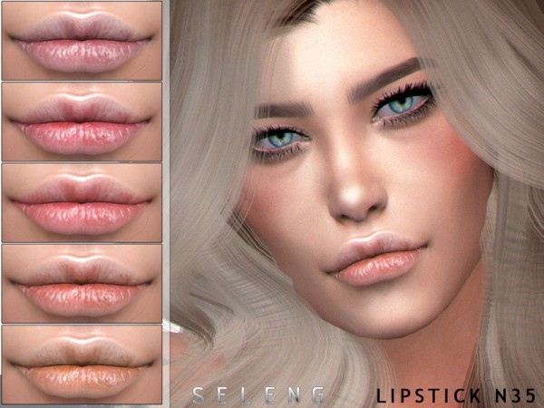 The Sims Resource: Lipstick N35by Seleng
