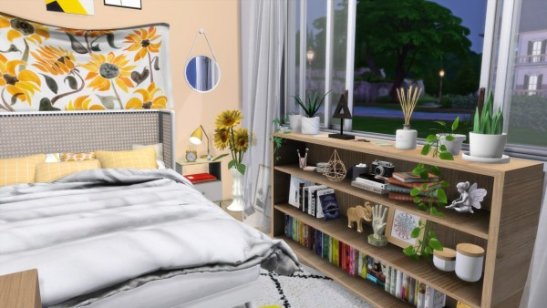 Models Sims 4: Little yellow room