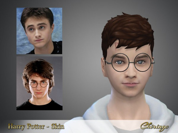 The Sims Resource: Harry Potter skin by chiringo chan