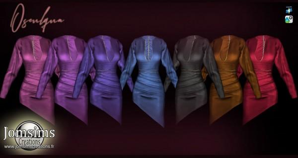 Jom Sims Creations: Osculqua Dress