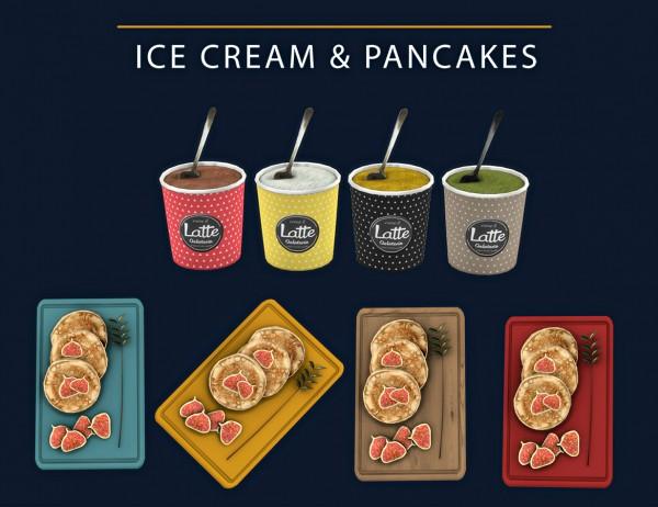 Leo 4 Sims: Ice Cream and Pancakes
